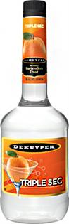 Dekuyper Liqueur Triple Sec 48@ 750ml - Case of 12